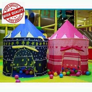 Bộ lều lâu đài kèm 100 bóng nhựa Shop Hà Anh