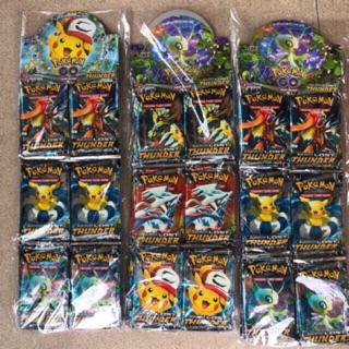 Thẻ bài pokemon (36 bộ, mỗi bộ 8 lá)