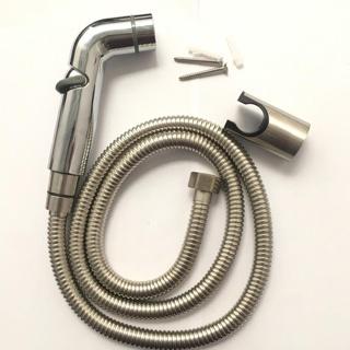 [HÀNG LOẠI 1] Vòi xịt vệ sinh THÔNG MINH có khóa cơ gạt mở điều chỉnh áp lực nước