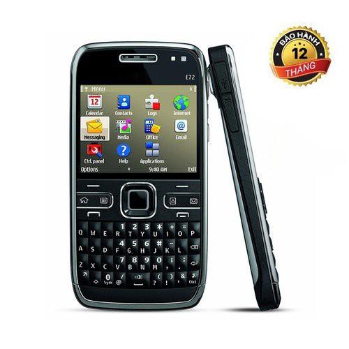 Điện Thoại Nokia E72 Wifi 3G Bảo Hành 12 Tháng Chơi Game online