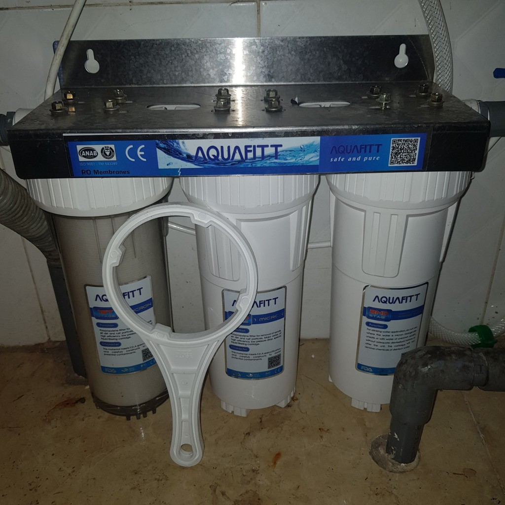 Bộ lọc nước thô 3 cấp 10 inch