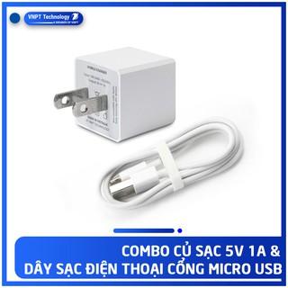 [Mã 2404EL10K giảm 10K đơn 20K] Bộ củ cáp sạc VIVAS Micro USB Chính hãng Giá tốt