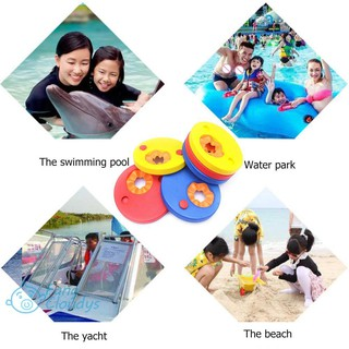 💕[IN STOCK/COD]💕EVA Foam Sleeves Inflatable Arm Baby Swimming Exercises Circles Rings