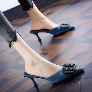 Giày Cao Gót Mũi Nhọn Thời Trang Cho Nữ 21 Phong Cách Âu Mỹ
