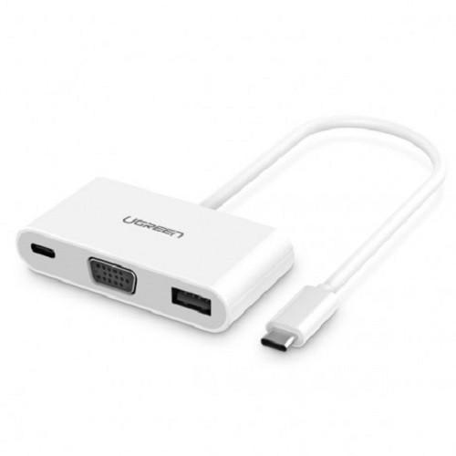 Cáp Chuyển USB-C to VGA Cao Cấp Ugreen 30376 Giá chỉ 755.000₫