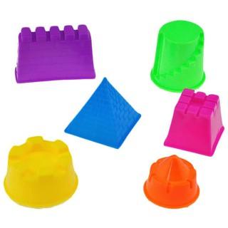 Bộ 6 khuôn tạo hình cát thú vị cho bé chơi