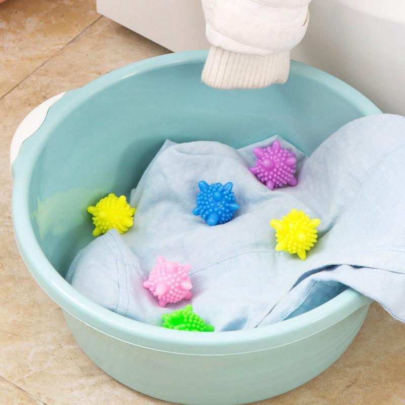 Set 10 bóng giặt gai giặt sạch giảm nhăn 2379