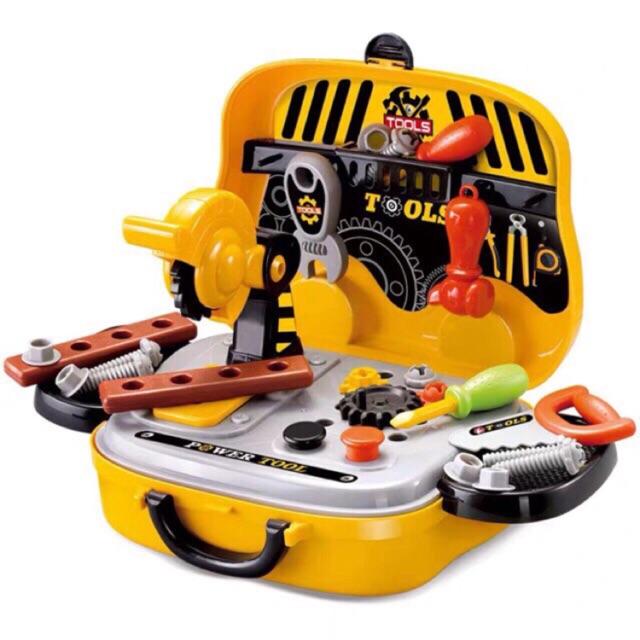 Bộ đồ chơi vali kỹ sư cơ khí - 13837140 , 1405684391 , 322_1405684391 , 200000 , Bo-do-choi-vali-ky-su-co-khi-322_1405684391 , shopee.vn , Bộ đồ chơi vali kỹ sư cơ khí