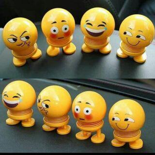 [SIÊU SALE] Thú nhún emoji, thú nhún emoji ngộ nghĩnh