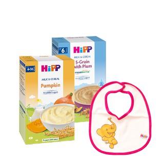 [Tặng 1 Yếm Ăn Dặm] Combo 2 Hộp Bột Sữa Rau Củ - Bí Đỏ Bột Sữa Ngũ Cốc Tổng Hợp - Mận Tây 250g Hộp