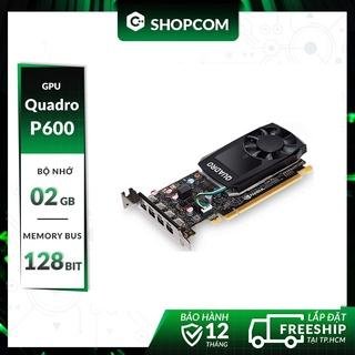 Nvidia Quadro P600 - 2G DDR5 128Bit thumbnail