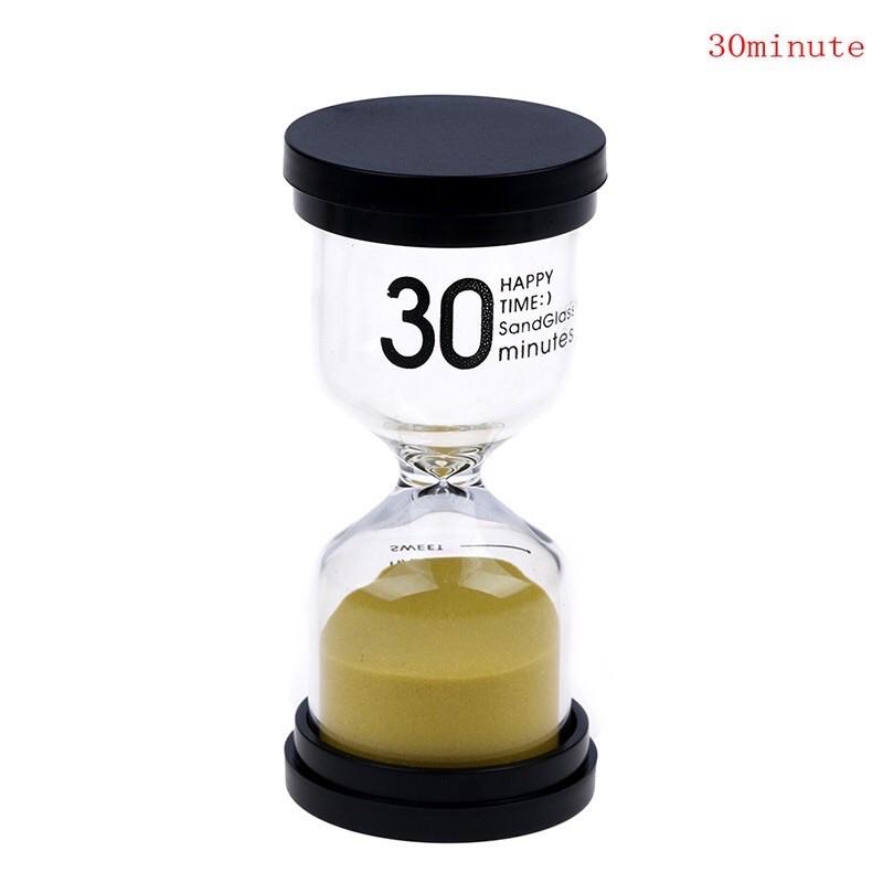 Đồng hồ cát thuỷ tinh 30 phút