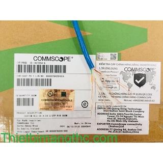 Cáp mạng Cat6 UTP Commscope AMP chính hãng P N 4-1427254-6, ko bán hàng fake ( Công ty, nhái, nhập khẩu) thumbnail