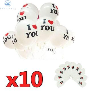 L1 10PCS 12″ Colorful High Quality Helium Romantic Lovely Latex Balloons