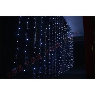 Hình ảnh Đèn LED Trang Trí Thả Mành Kiểu Rèm Mưa Nhiều Kích Thước 3m x 3m; 3m x 2,5m; 4m x 0,6m-7