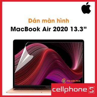 Dán màn hình Macbook Air, Macbook Pro 2012, 2013, 2014, 2015, 2016, 2017, 2018, 2019, 2020 13 inch, 13,3 inch, 15 inch