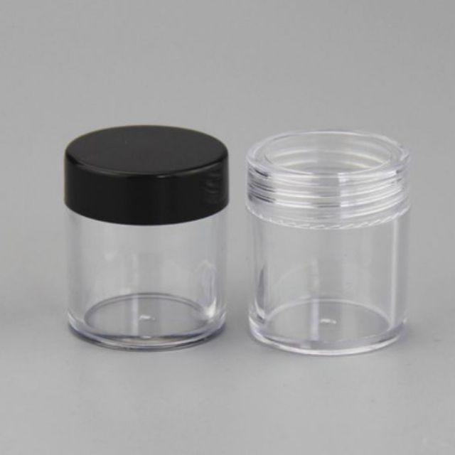 Hủ nhựa thân cao 10g / hủ chiết mỹ phẩm