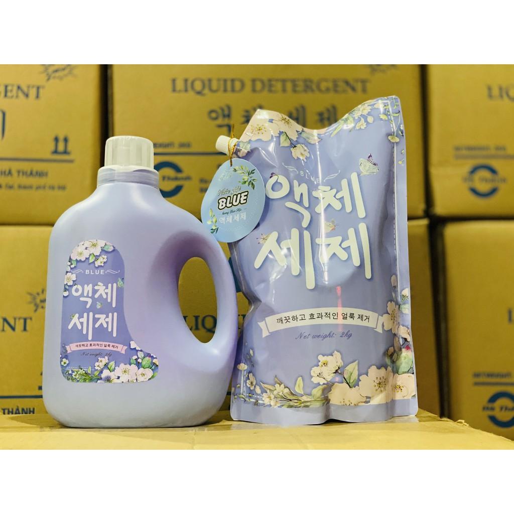 Nước Giặt Blue Hàn Quốc Hương Thảo Mộc Chính Hãng 2000ML