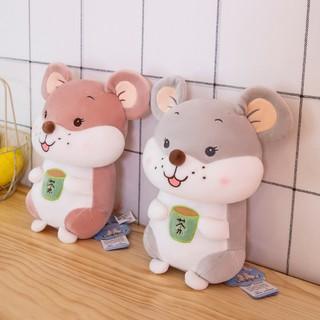 Cute rat doll super soft plush toy rat children's doll give girl birthday gift rag doll male super cute