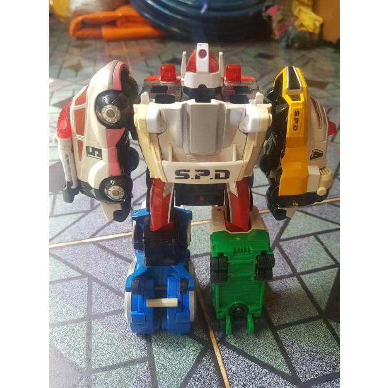 Đồ chơi bandai Deka bike và Deka robot siêu nhân SPD