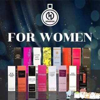 16 mùi nữ HPARFUM Tinh dầu nước hoa Pháp thumbnail
