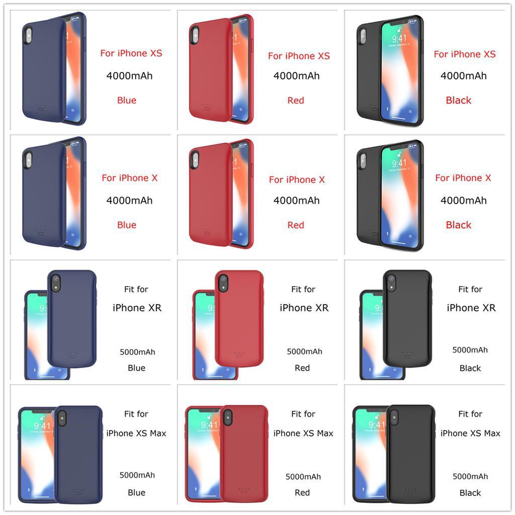 Ốp lưng kiêm pin sạc dự phòng thời trang dành cho iPhone 6 Plus 7 Plus 8  Plus iPhone X XS Max XR - Azmall.vn - Mua sắm thông minh