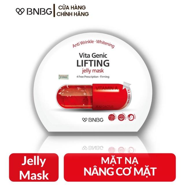 Chính Hãng] Lẻ Miếng Mặt Nạ BNBG Vitamin A Vita Genic Lifting 30ml | Shopee  Việt Nam