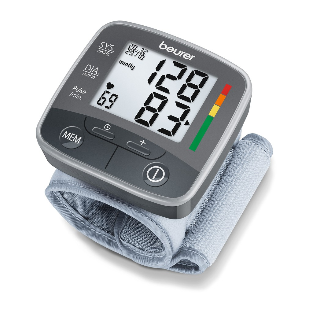 Máy đo huyết áp điện tử cổ tay Beurer BC32 - 2927773 , 382884447 , 322_382884447 , 760000 , May-do-huyet-ap-dien-tu-co-tay-Beurer-BC32-322_382884447 , shopee.vn , Máy đo huyết áp điện tử cổ tay Beurer BC32