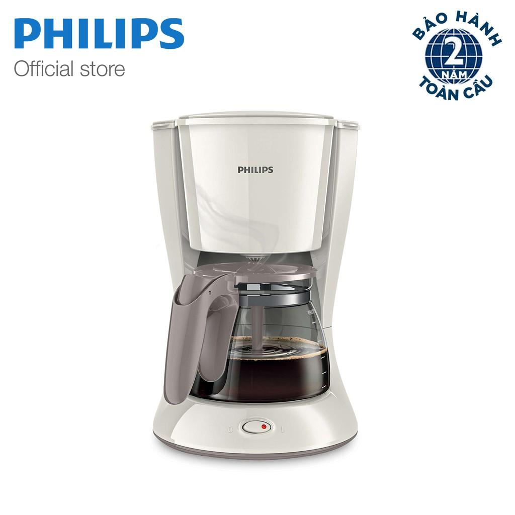 Máy pha cà phê Philips HD7447 1.2L Trắng