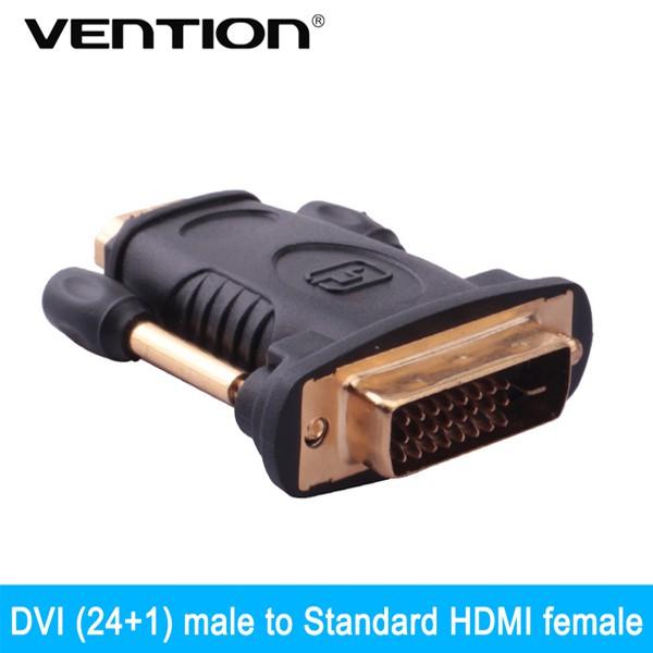 Đầu chuyển đổi DVI to HDMI Vention DV380HD - 3547300 , 1251934919 , 322_1251934919 , 80000 , Dau-chuyen-doi-DVI-to-HDMI-Vention-DV380HD-322_1251934919 , shopee.vn , Đầu chuyển đổi DVI to HDMI Vention DV380HD