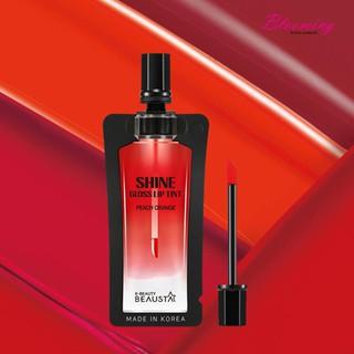 Son Beausta-Shine Gloss Lip Tint-Peach Orange 4ml-1