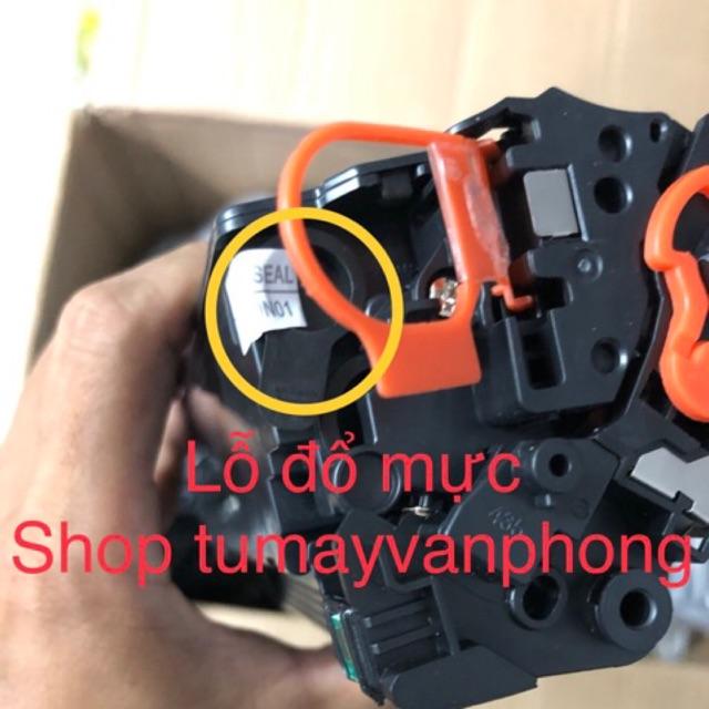 Hộp Mực  85A , hộp mực 35A có lỗ đổ mực và mực thải dùng cho máy in hp P1102,P1102w,M1212NF,M1132 và Canon LBP-3018/3010