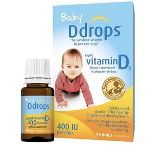 Vitamin D Drops 400 IU