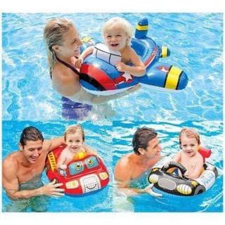 Phao bơi xỏ chân Intex cho bé