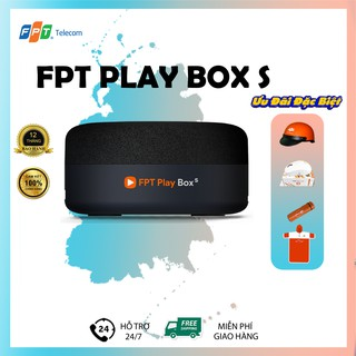 Đầu thu truyền hình kỹ thuật số FPT PlayBox 2021 - T590 - Tivi Box - Hệ điều hành AndroidTV 10 - Bảo Hành 1 Năm thumbnail