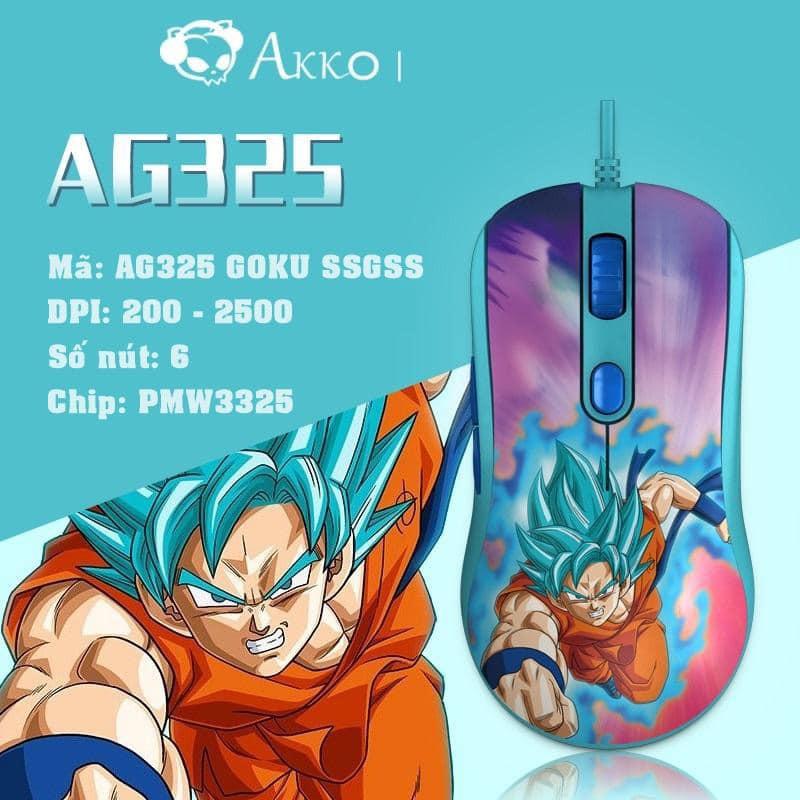 Chuột chơi game AKKO AG325 Dragon Ball Super - Hàng chính hãng