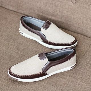 Giày lười - giày nam vải jean cao cấp-Ưu đãi cực khủng FREESHIP ĐƠN [99K] thumbnail