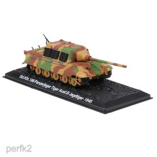 1:72 Panzerjager Tiger Ausf.B Jagdtiger 1945 Tank Fighter Deicast Army Model