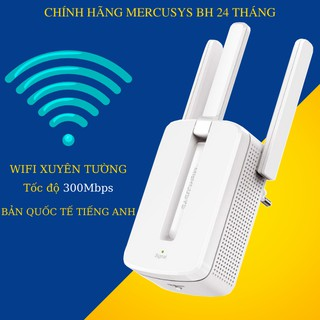 Bộ kích sóng wifi 3 râu Mercusys (wireless 300Mbps) cực mạnh,kích sóng wifi,kich wifi,cục hút wiif,VDS shop