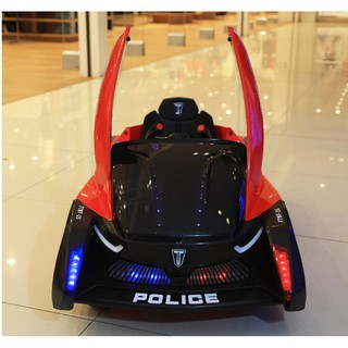 xe ô tô điện trẻ em – xe cảnh sát SMT-8118