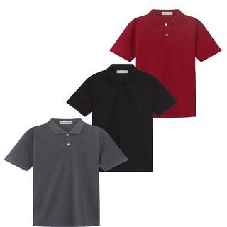 Áo thun nam, áo thun vải cá sấu, HM3 (đỏ, đen, xám) _VNXK # Cao cấp
