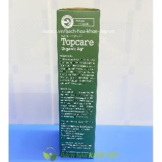 Gel dung dịch vệ sinh phụ nữ thảo dược Topcare Organic ngừa viêm nhiễm, dưỡng và giữ ẩm cô bé - Chai 145ml 4