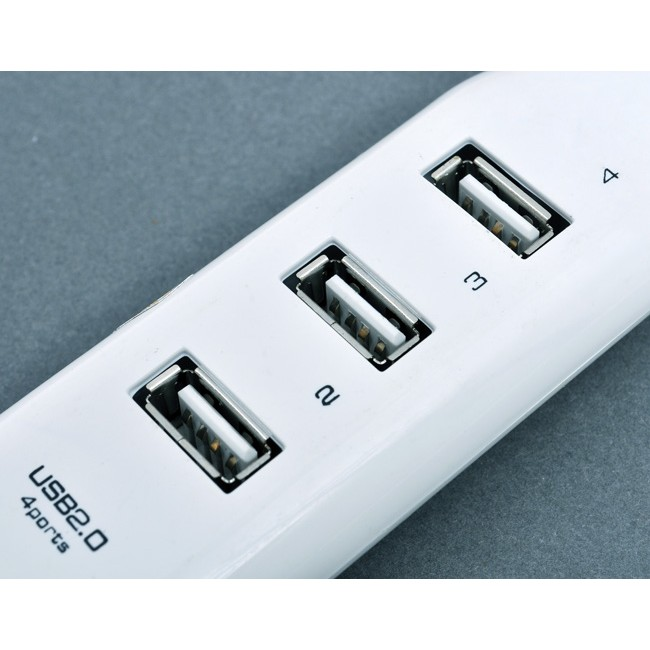 HUB CHIA USB 4 CỔNG HÌNH Ổ ĐIỆN