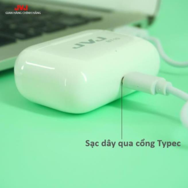 Tai Nghe Không Dây Bluetooth 5.0 JVJ BT10 cao cấp cảm biến vân tay, xuyên âm,sử dụng cho tất cả dòng điện thoại
