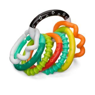 Vòng gặm nướu xúc xắc nhiều màu sắc Infantino 0919-INF-001-206158, nhiều màu sắc, chất liệu an toàn cho bé thumbnail
