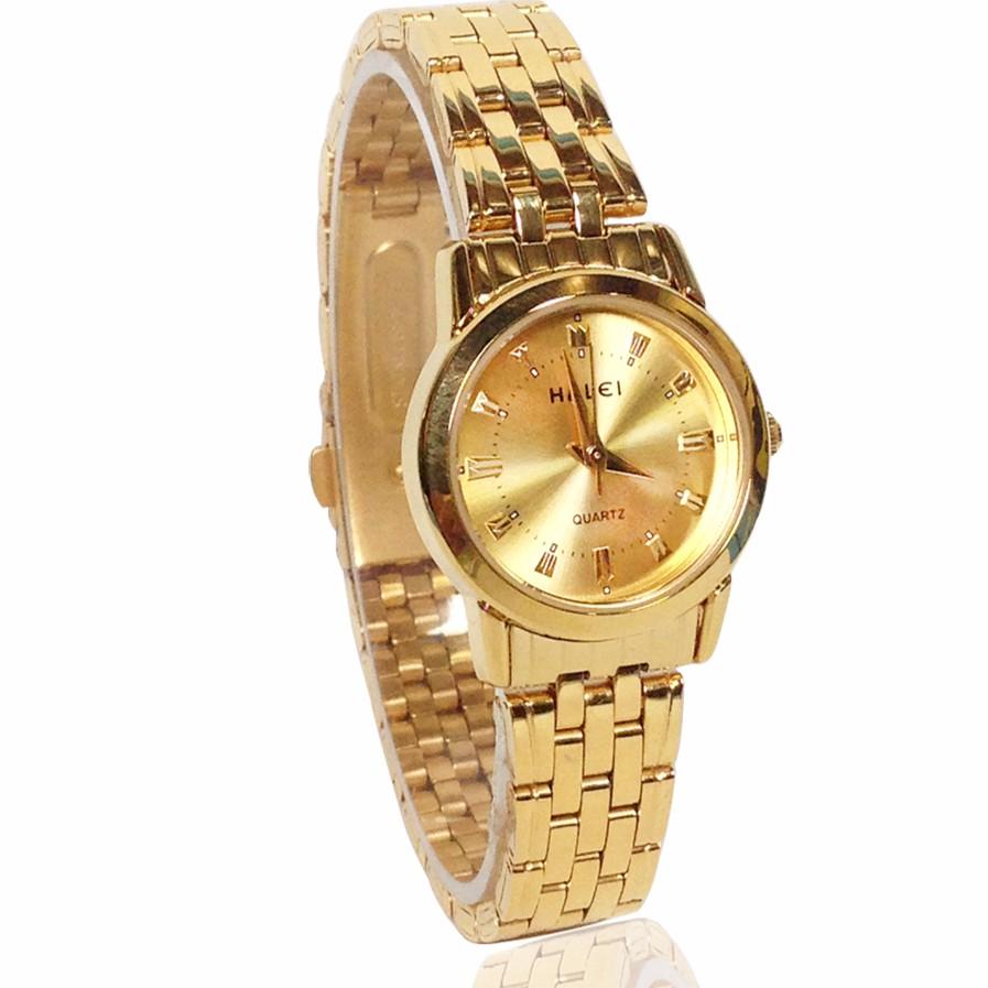 Đồng hồ nữ HALEI 6688 dây thép không gỉ thời trang (VÀNG) - 2601118 , 506030112 , 322_506030112 , 699000 , Dong-ho-nu-HALEI-6688-day-thep-khong-gi-thoi-trang-VANG-322_506030112 , shopee.vn , Đồng hồ nữ HALEI 6688 dây thép không gỉ thời trang (VÀNG)