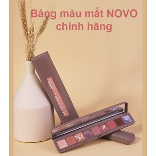 Bảng phấn mắt Novo 9 màu cực đẹp. thumbnail