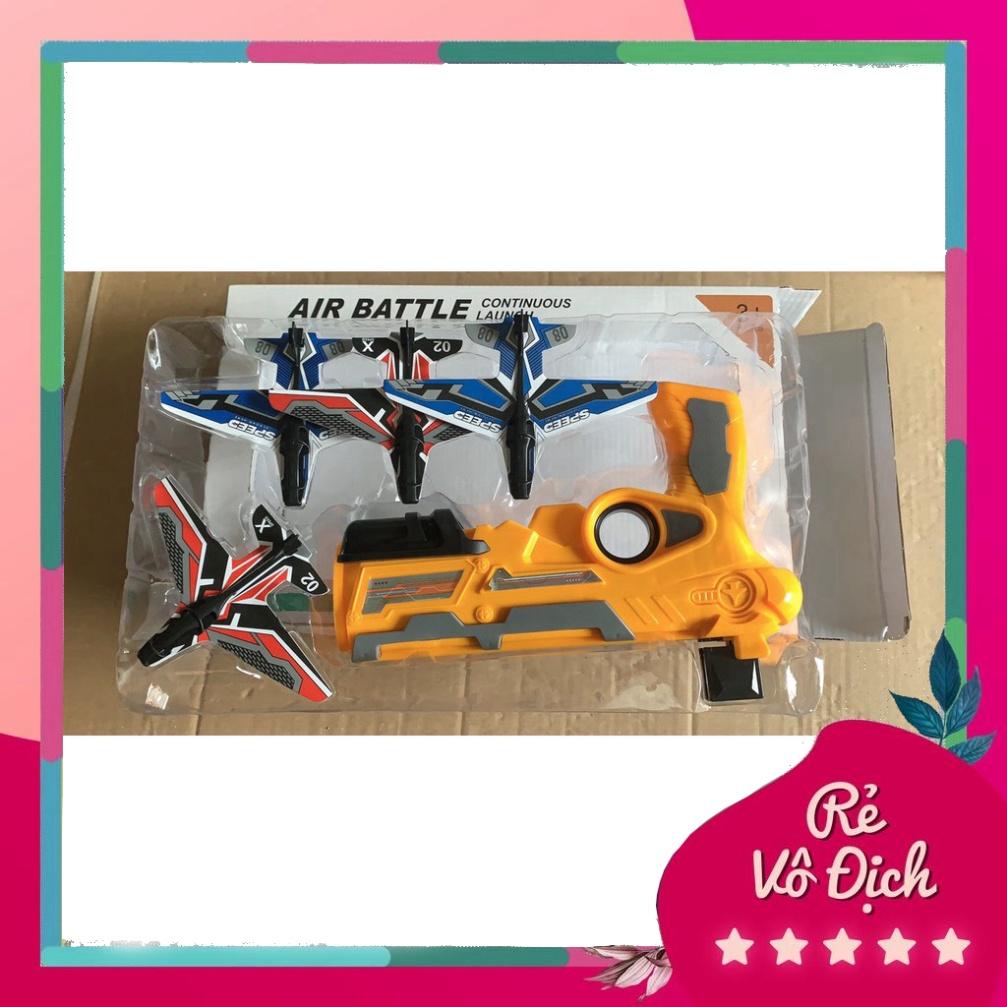 súng bắn máy bay mô hình trẻ em, đồ chơi phóng máy bay món quà tuyệt vời dành cho bé (Tuyển Sỉ)