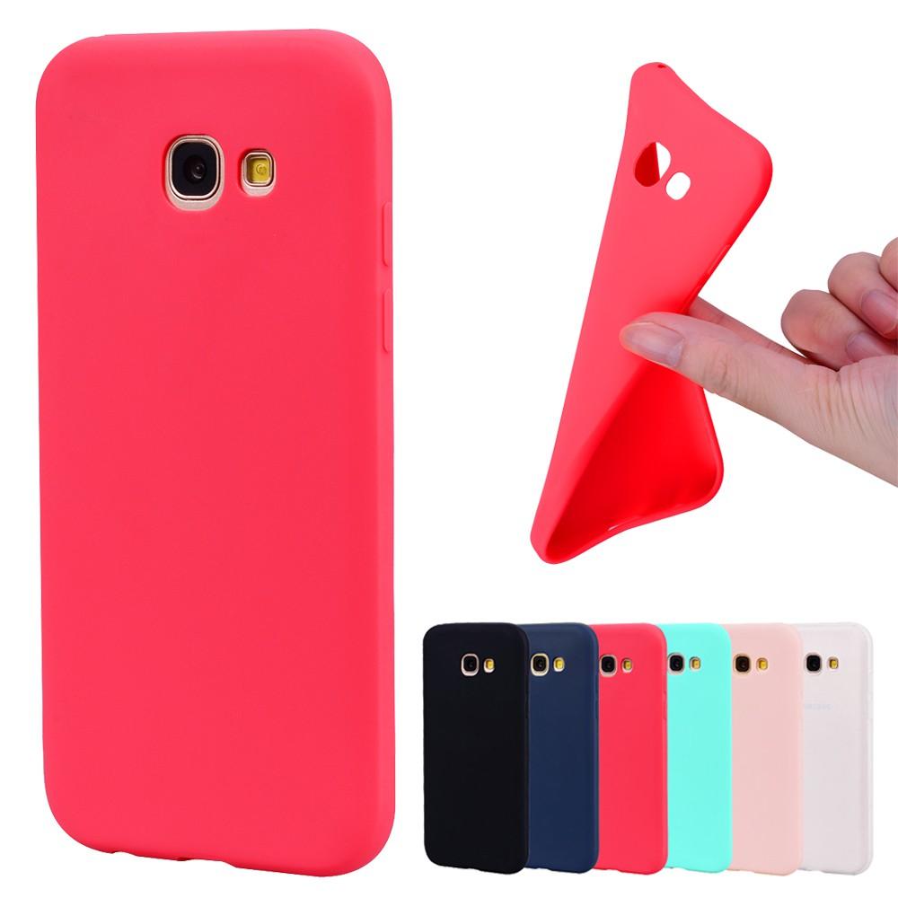 Ốp lưng điện thoại bằng TPU dành cho Samsung Galaxy A3 A5 A7 2017 / A6 A8 Plus 2018