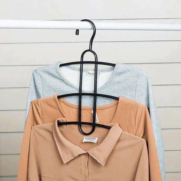 Móc treo quần áo 3 tầng thông minh